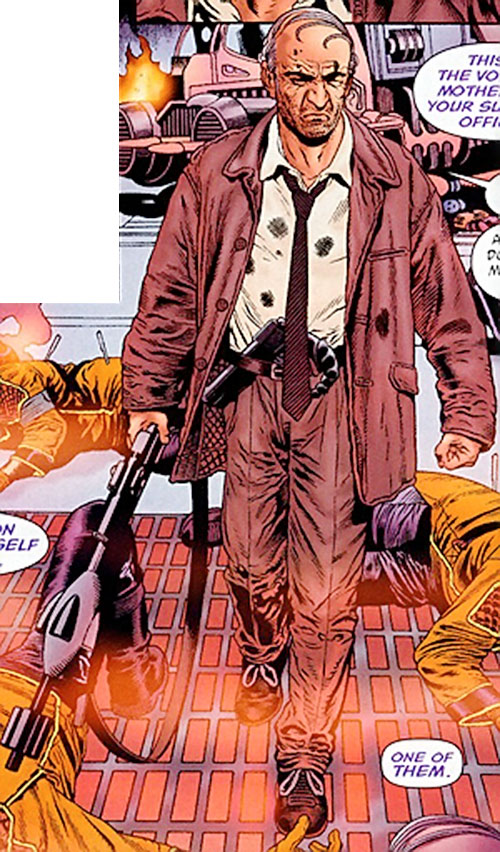 Ned Slade (Grant Morrison's The Filth)