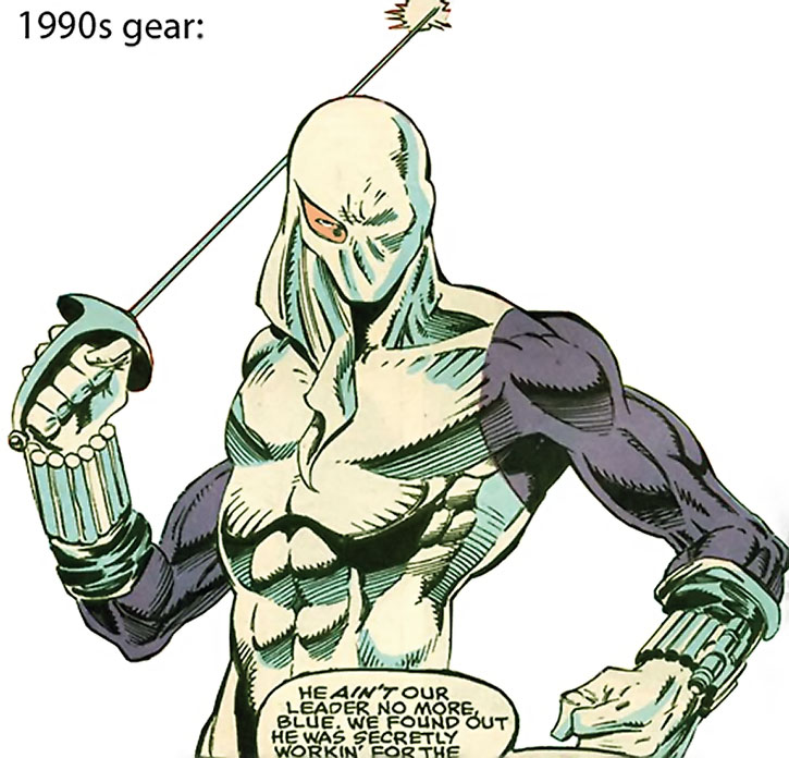 The Needle (1990s costume and weapons)