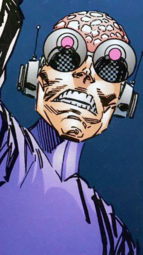 Negate (Savage Dragon Comics) closeup