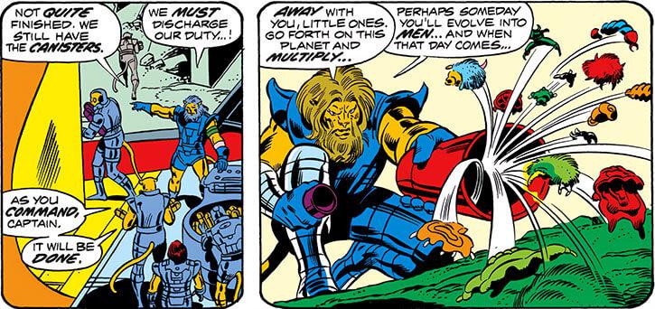 Negative Zone (Marvel Comics) - Tyannan forerunners