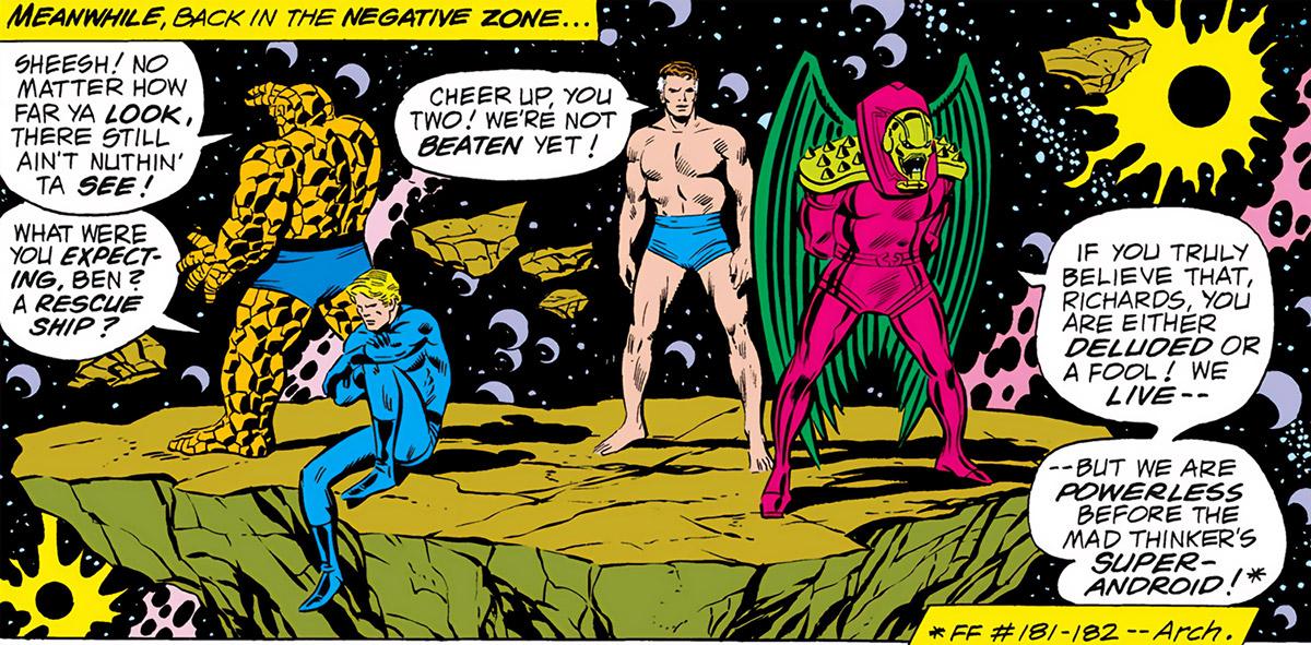 Negative Zone (Marvel Comics) - Fantastic 4 and Annihilus