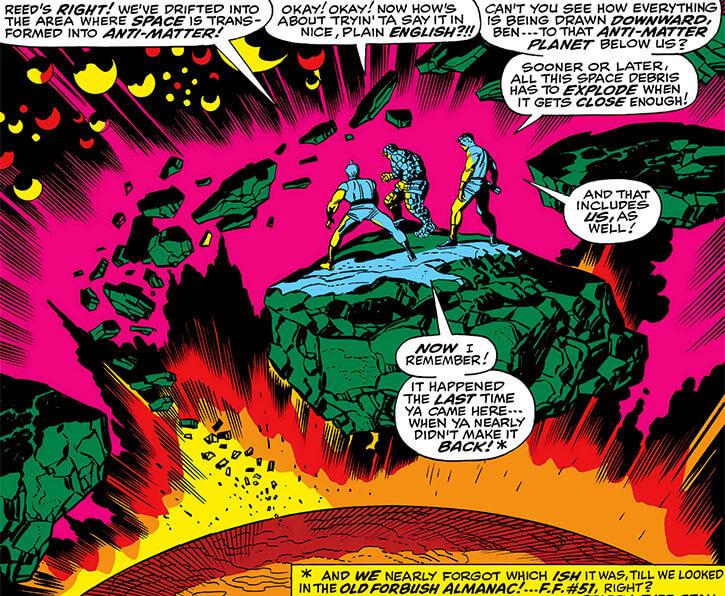 Negative Zone (Marvel Comics) - distortion area
