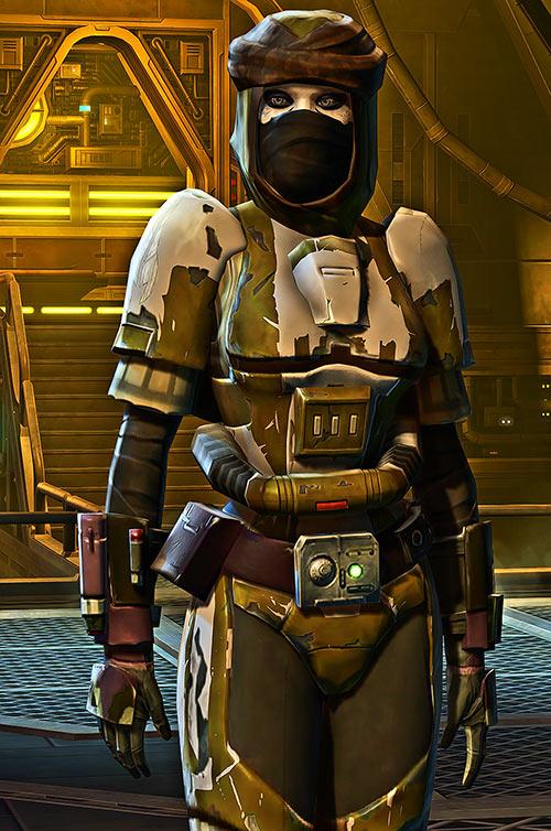 Nekev Nisrok Star Wars Old Republic bounty hunter HD test