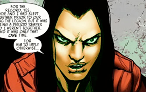 Nekra (Marvel Comics) face closeup