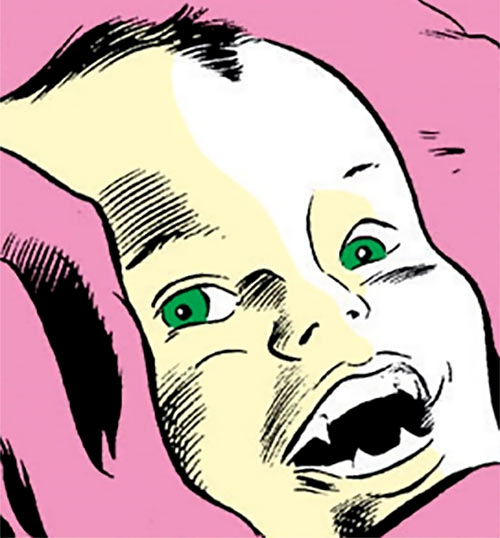 Nekra (Marvel Comics) as a baby