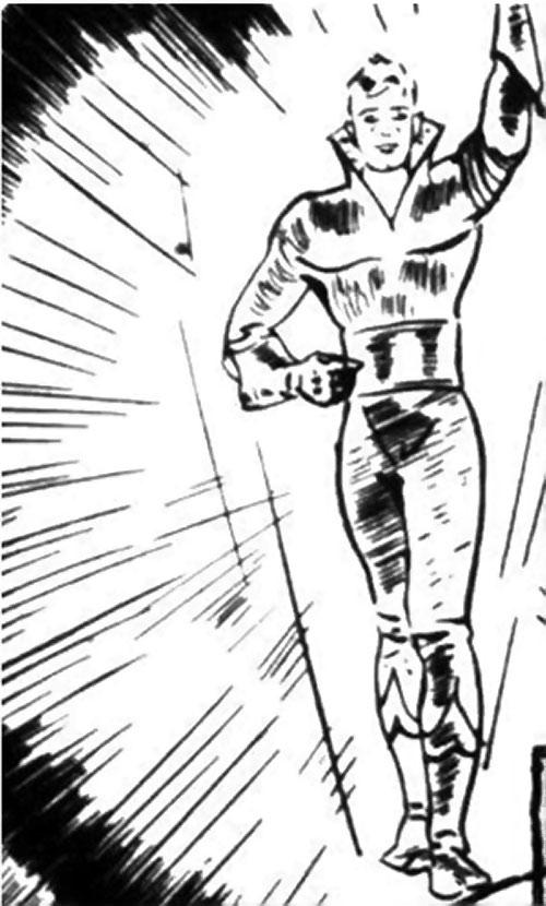 Nelvana of the Northern Light (Canadian whites Triumph comics) - Tanero shining