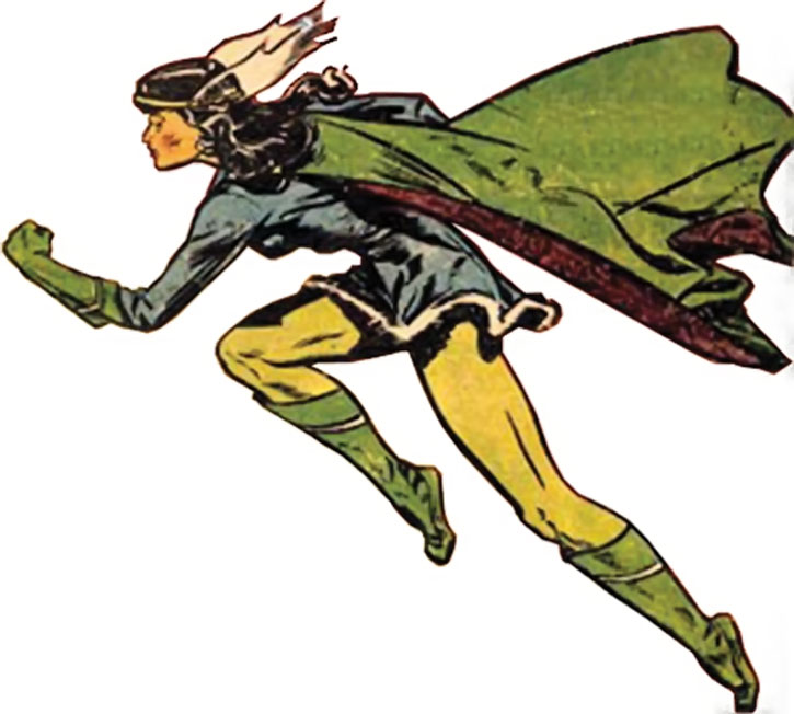 Nelvana in color from a cover