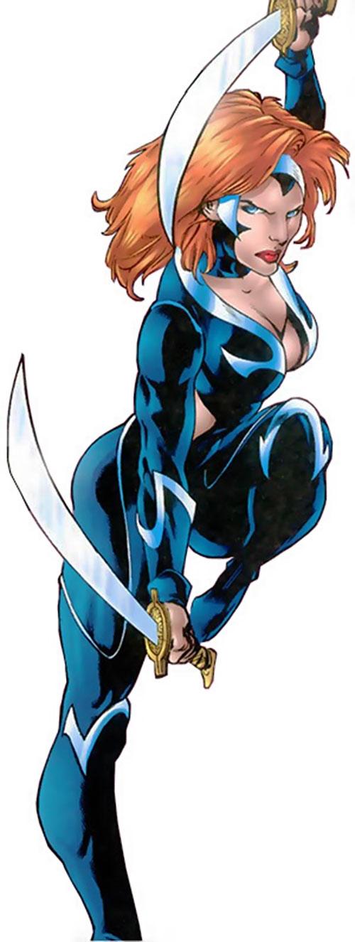 Nemesis (Soseh Mykros) (JSA character) (DC Comics)