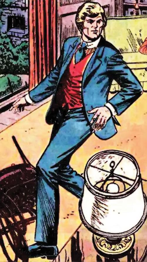 Nemesis (Tresser) (Pre-Crisis DC Comics Brave Bold) in a blue suit