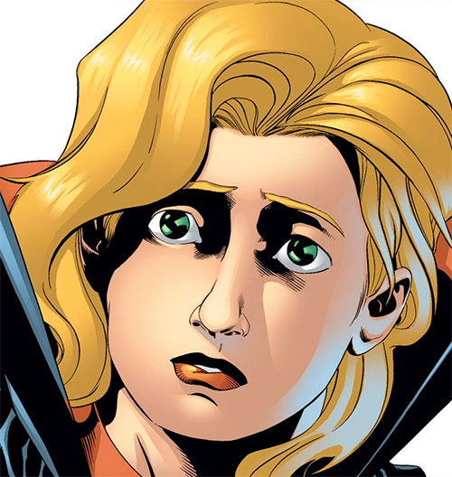 Nemesis (Alpha Flight character) (Marvel Comics) - Amelia face