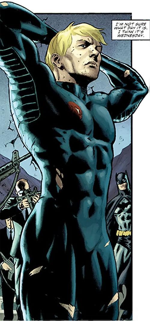 Nemesis (Wonder Woman ally) (DC Comics) surrendering