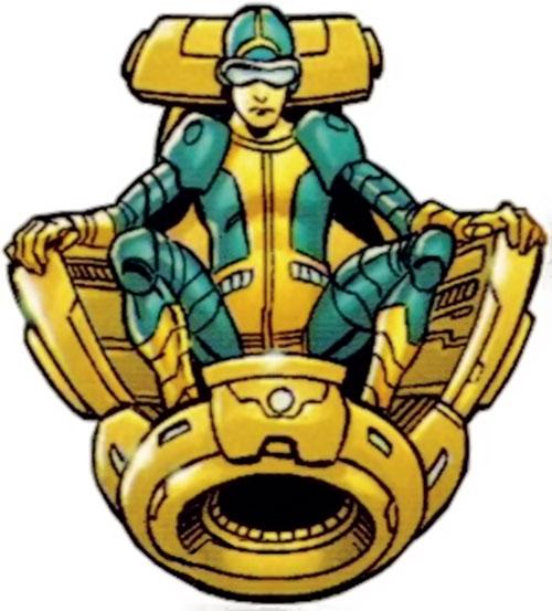 Neutrax of the League of Super-Assassins (DC Comics)