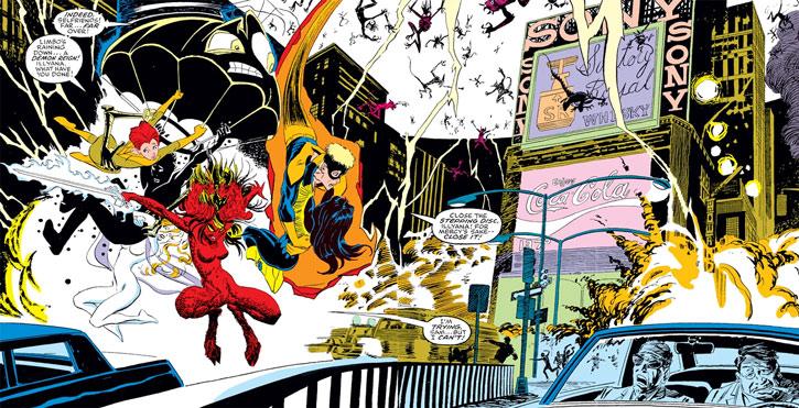 New Mutants (Marvel Comics) classic era - Inferno