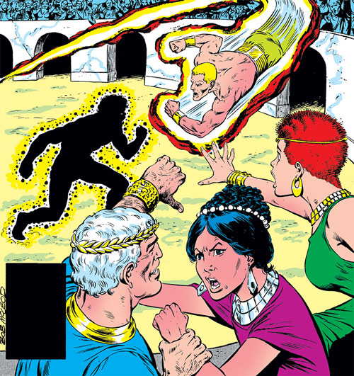 New Mutants (Marvel Comics) (Team profile #1) - arena in Nova Roma