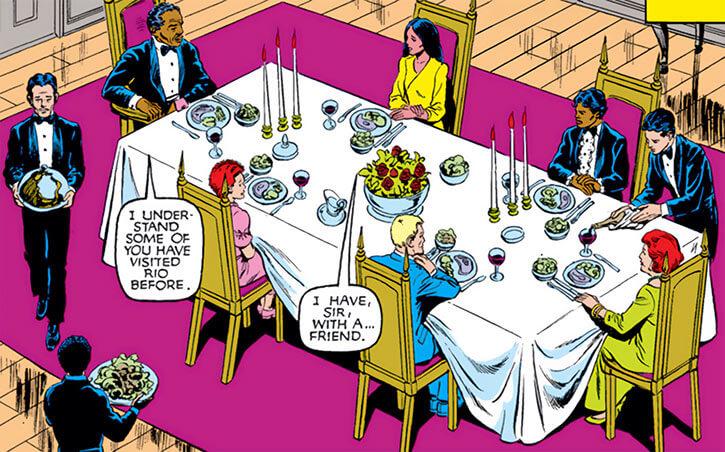 New Mutants (Marvel Comics) (Team profile #1) - dining in Rio de Janeiro
