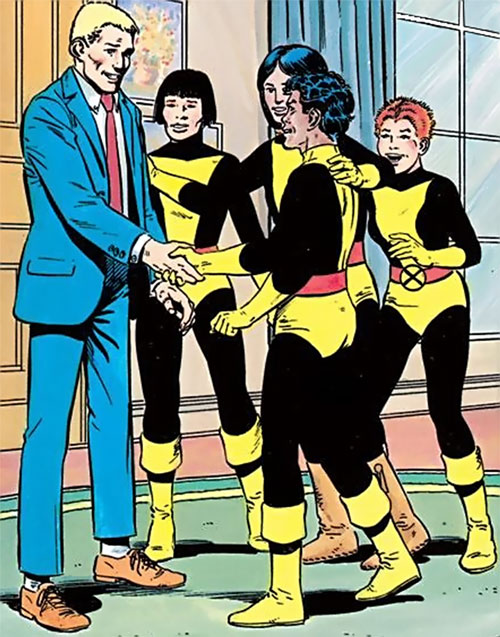 New Mutants - Team Profile - Sam Guthrie is welcomed in