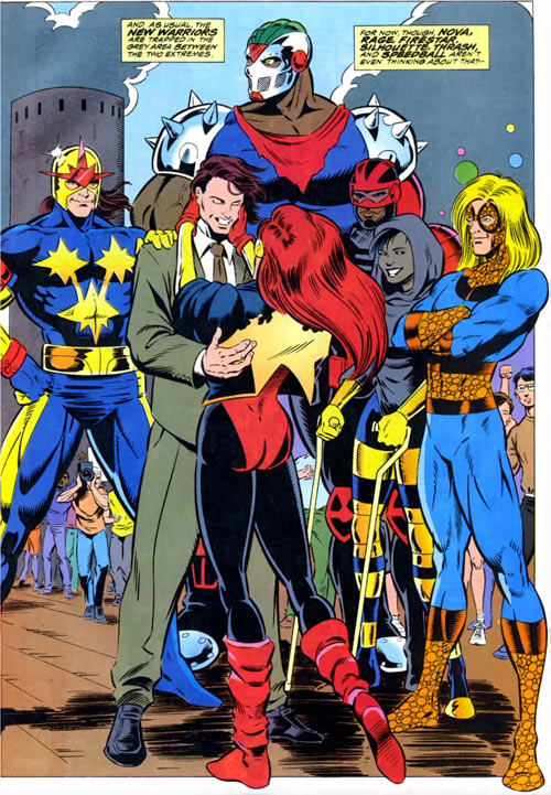 New Warriors team profile #3 - Marvel Comics