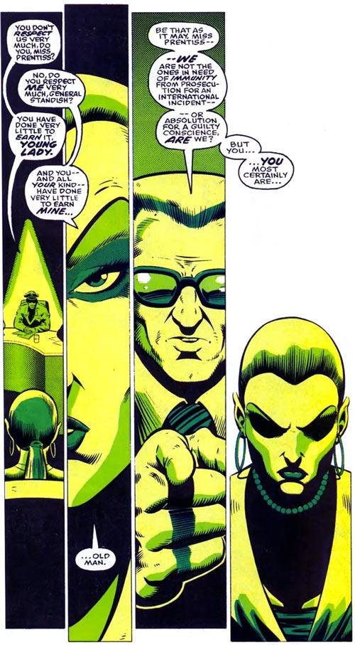 New Warriors (Marvel Comics) (Team Profile #2) Namorita legal hearing general