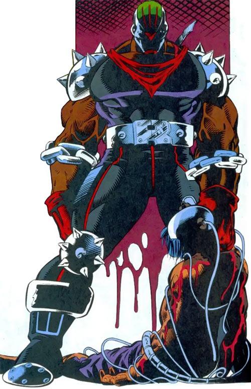 New Warriors (Marvel Comics) (Team Profile #2) Rage kills the Poison Memories leader