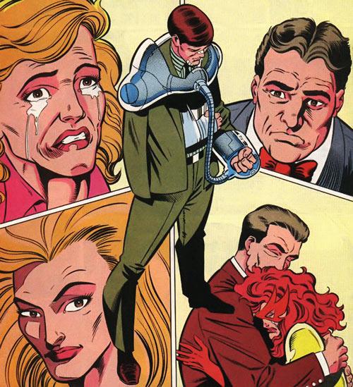 New Warriors (Marvel Comics) (Team Profile #2) Vance Astrovik sentenced