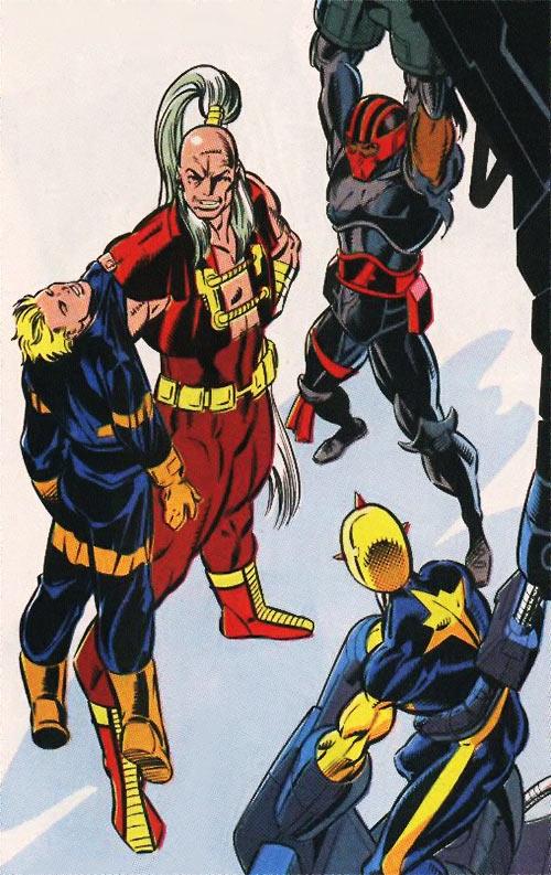 New Warriors (Marvel Comics) (Team Profile #2) Gideon wins