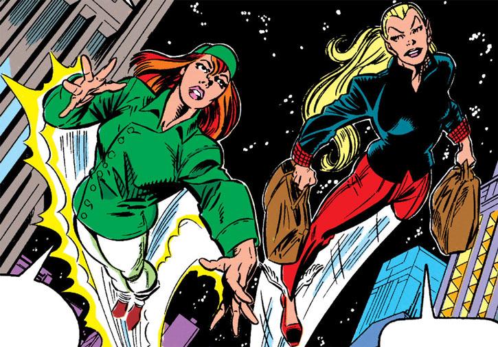 New Warriors (Marvel Comics) (Team Profile #2) super shopping Namorita Firestar