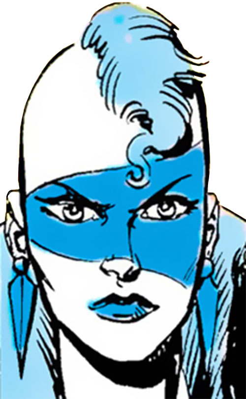 New Wave of the Masters of Disaster (DC Comics) face closeup