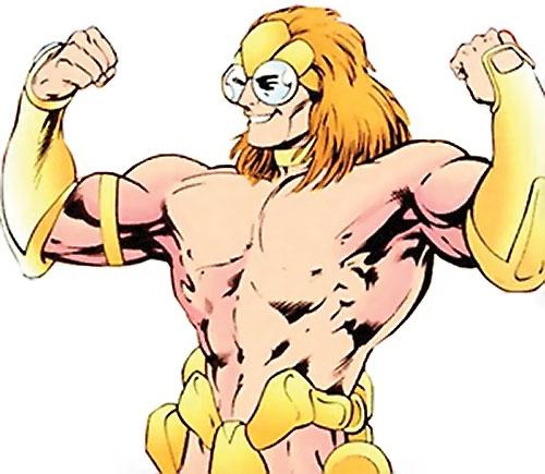 Newton Destine of Clan Destine (Marvel Comics) warlord body