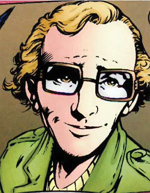Newton Destine of Clan Destine (Marvel Comics) smiling face closeup