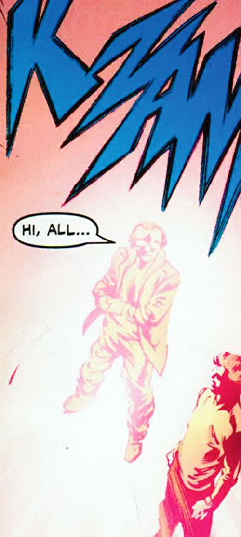 Newton Destine of Clan Destine (Marvel Comics) teleporting in