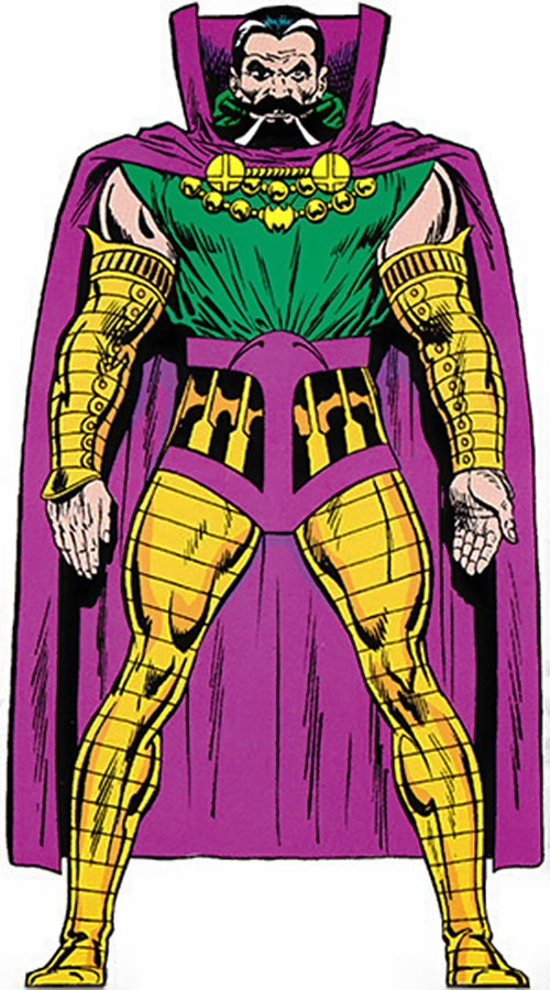 Nicholas Scratch (Marvel Comics) from the master edition handbook