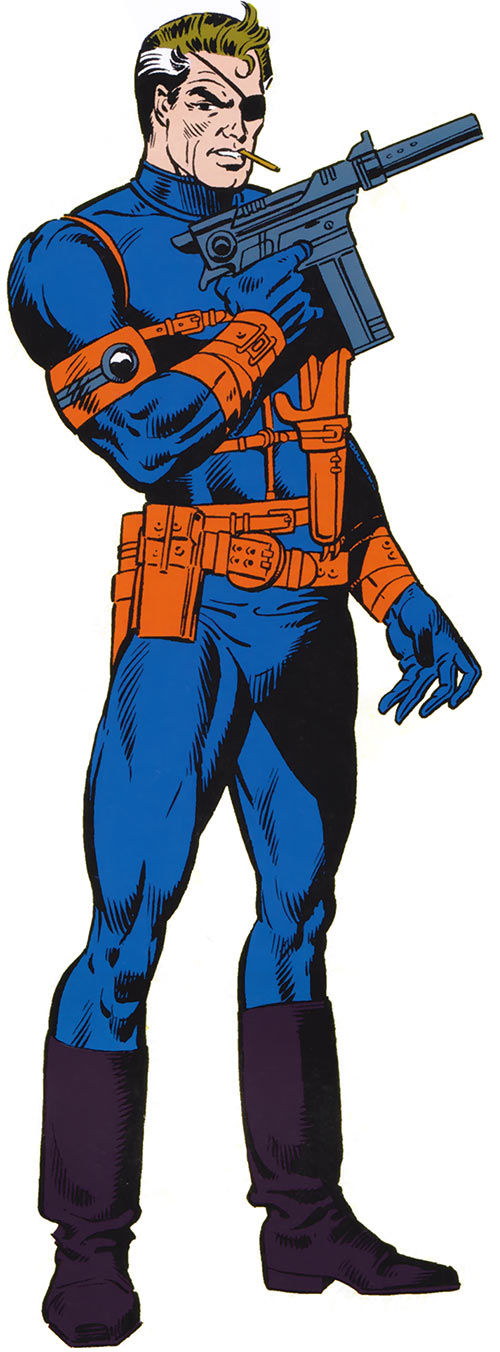 Nick Fury (Marvel Comics) from the handbook