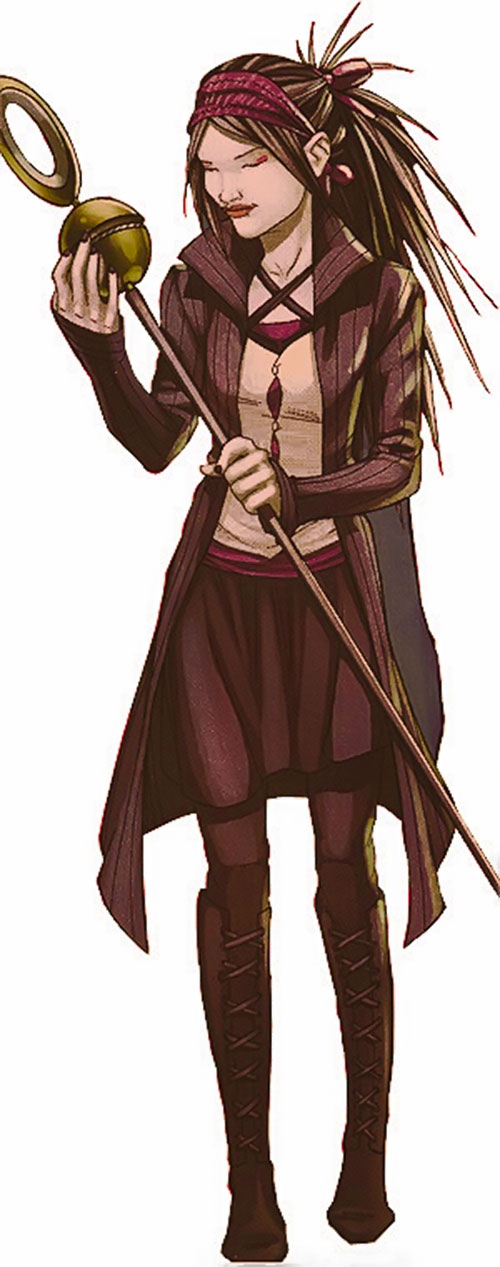 Nico Minoru aka Sister Grimm of the Runaways (Marvel Comics)