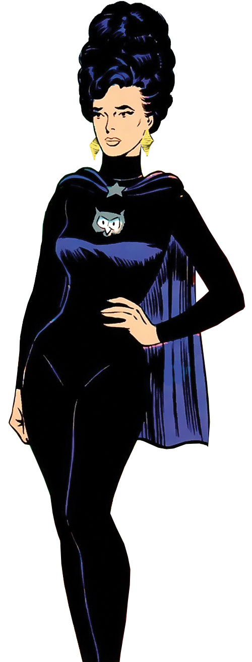 Night Girl of the Legion of Super-Heroes (DC Comics Silver Age)