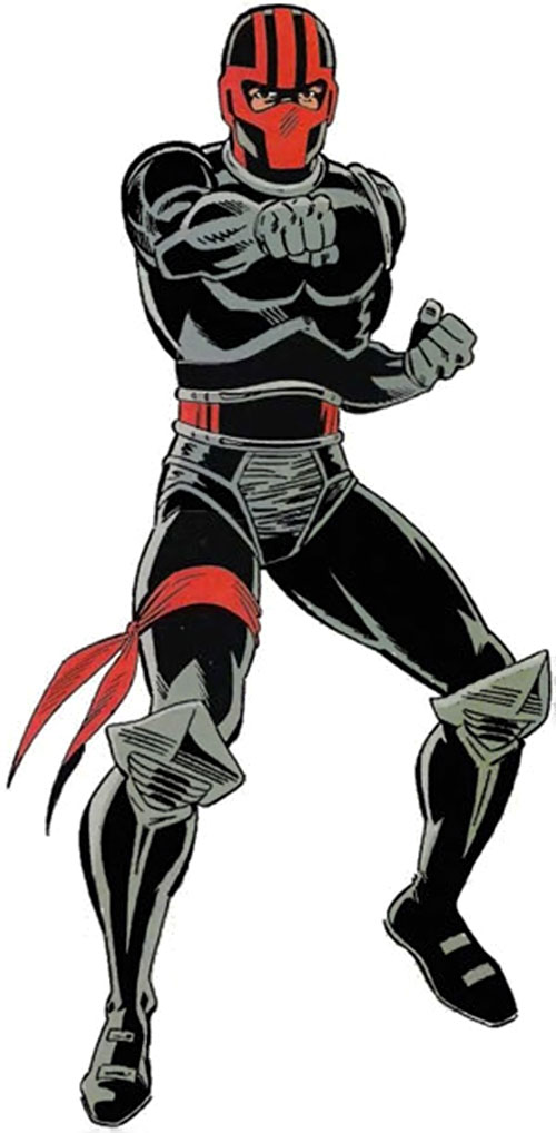 Night Thrasher (Marvel Comics) from the TSR handbook