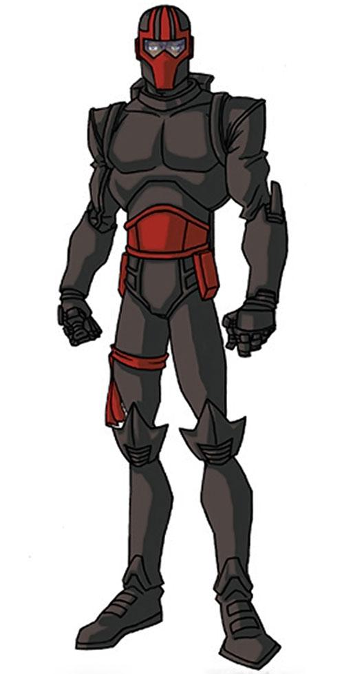 Night Thrasher (Marvel Comics) by RonnieThunderbolts 2/7