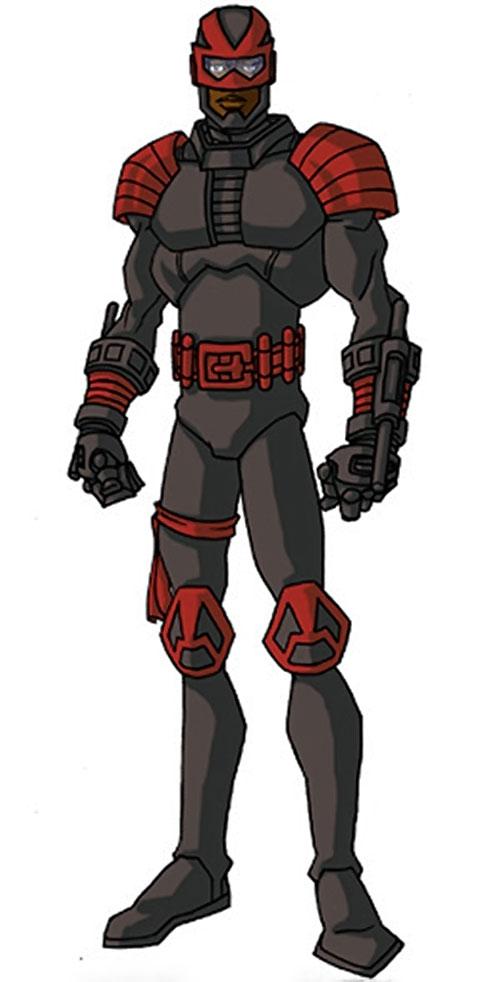 Night Thrasher (Marvel Comics) by RonnieThunderbolts 4/7