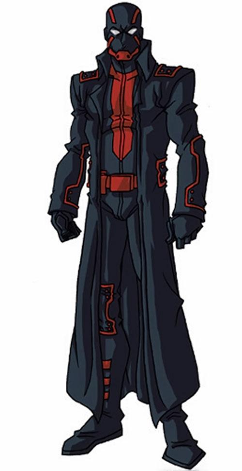 Night Thrasher (Marvel Comics) by RonnieThunderbolts 7/7