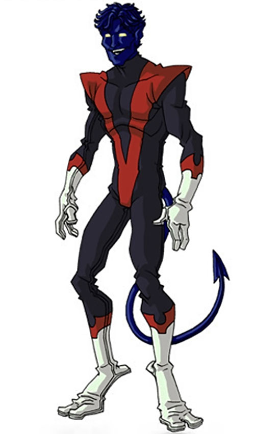 Nightcrawler (Marvel Comics) by RonnieThunderbolts 1/5