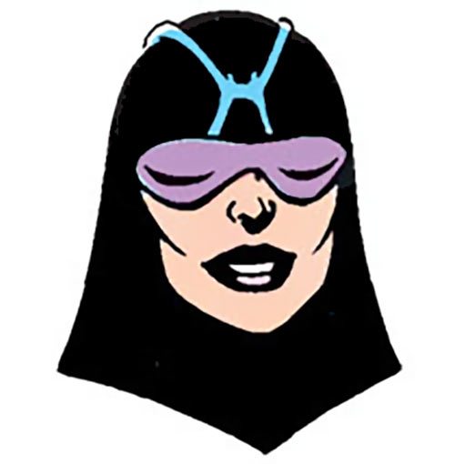 Nightfall (DC Comics) of the Cadre - portrait from the Who's Who