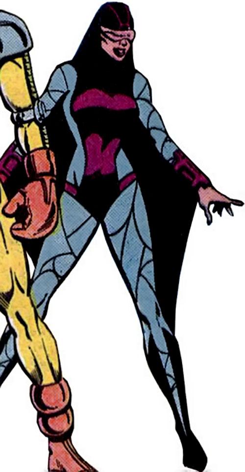 Nightfall of the Cadre (JLA enemy) (DC Comics)