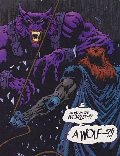 Nik Apocaloff (Ultraverse Malibu comics) vs. Night Man