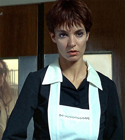 Nikita (Anne Parillaud) disguised as a maid
