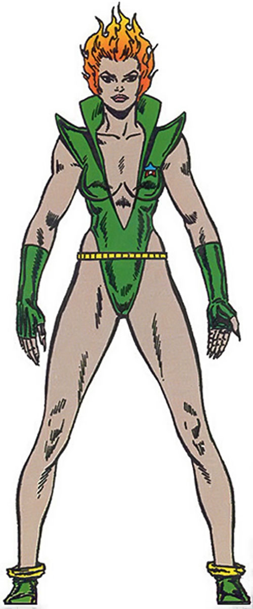 Nikki (Guardians of the Galaxy) (Marvel Comics) from the Master Edition handbook