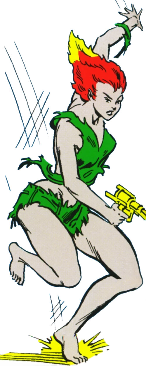 Nikki (Guardians of the Galaxy) (Marvel Comics) early appearance