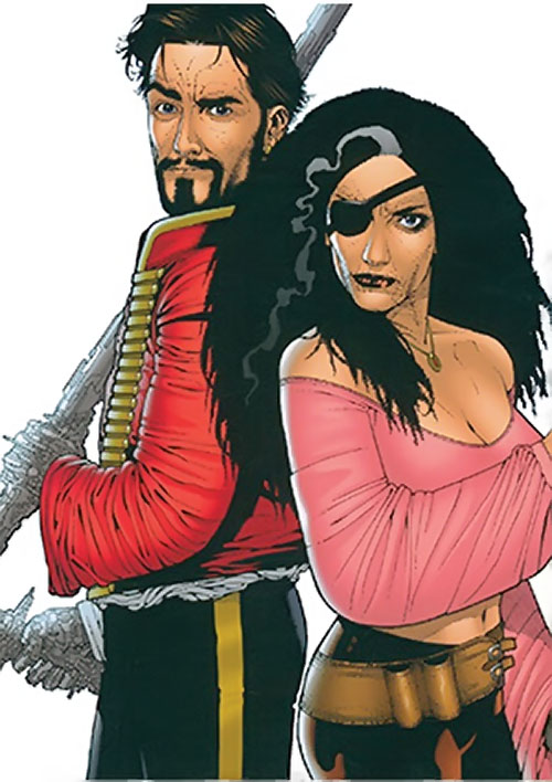 Nikolai Dante and Katarina (2000AD comics)