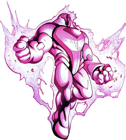 Nimrod the Sentinel (Marvel Comics) (X-Men enemy) levitating