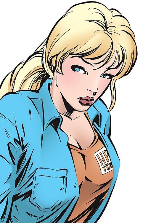 Nina McCabe - Elektra character - Marvel Comics - Without her costume