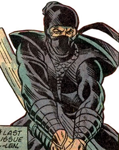 The Ninja (Iron Fist enemy) (Marvel Comics)