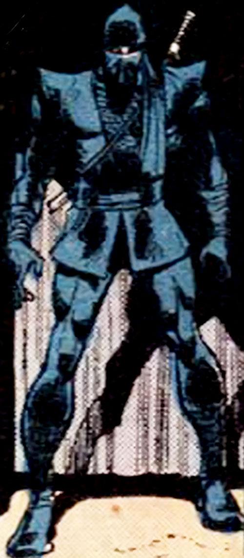 The Ninja (Iron Fist enemy) (Marvel Comics) in the dark